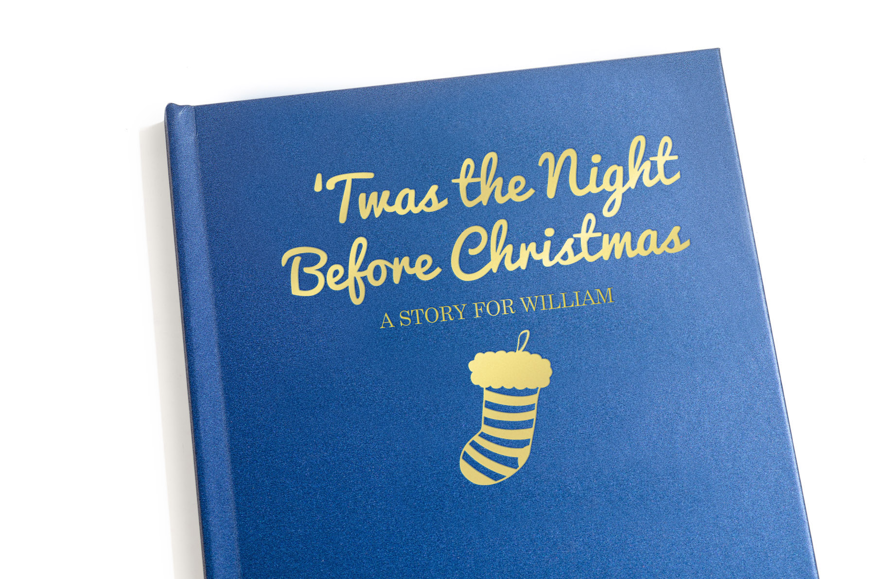 twas the night before christmas personalized book signature gifts