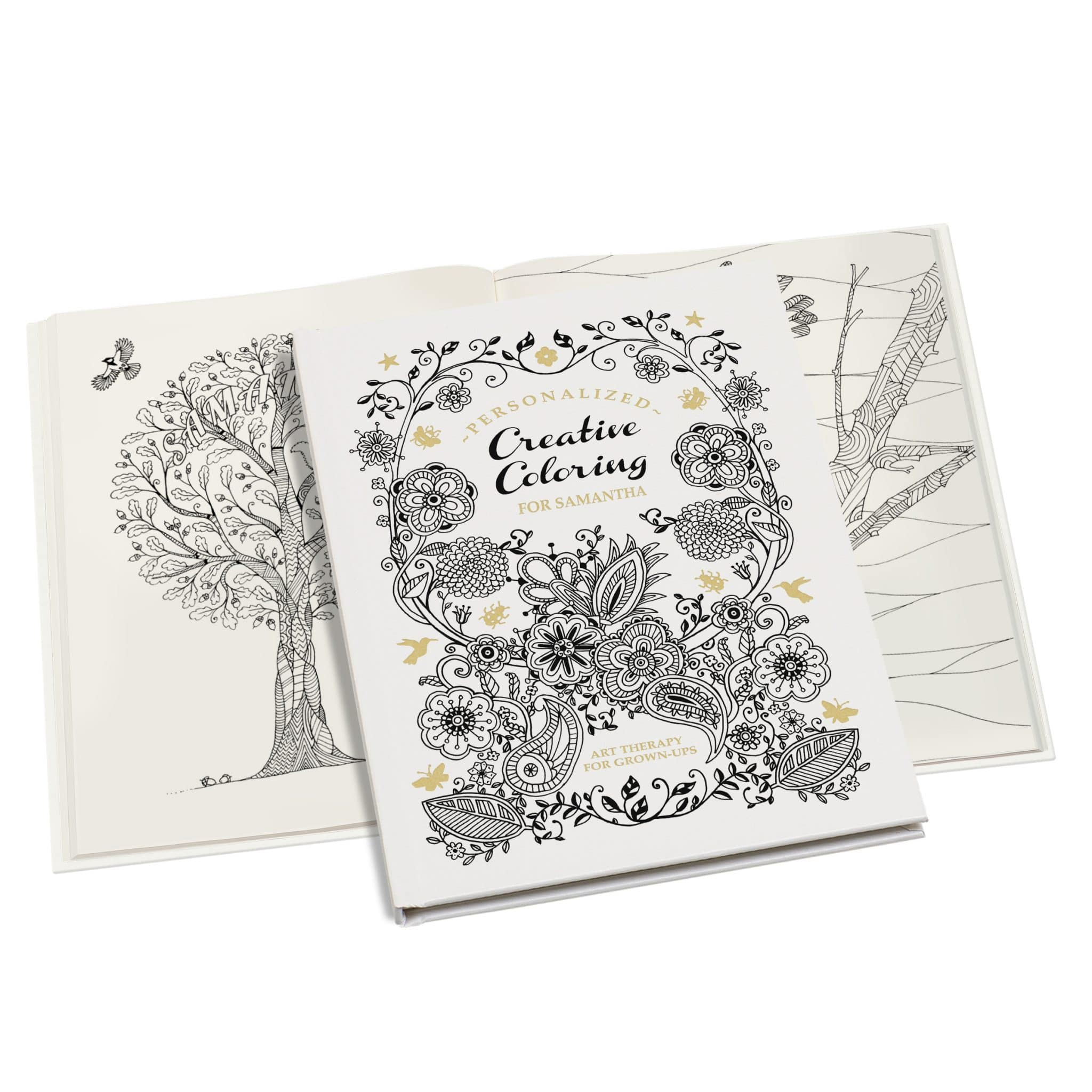 Personalized Adults Coloring Book