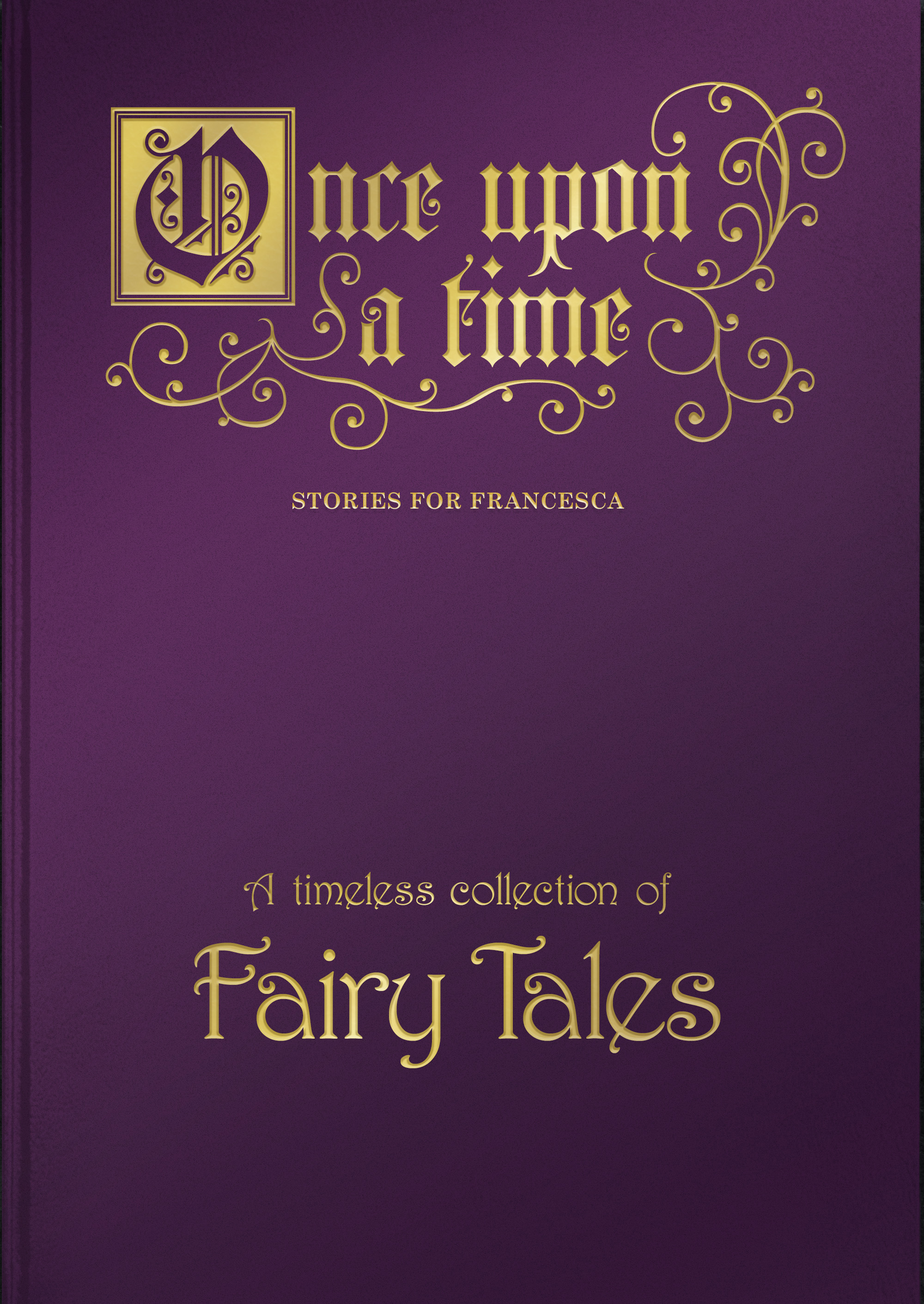 Once Upon a Time Collection of Fairy Tales | Signature Gifts Fairy Tale Book Once Upon A Time