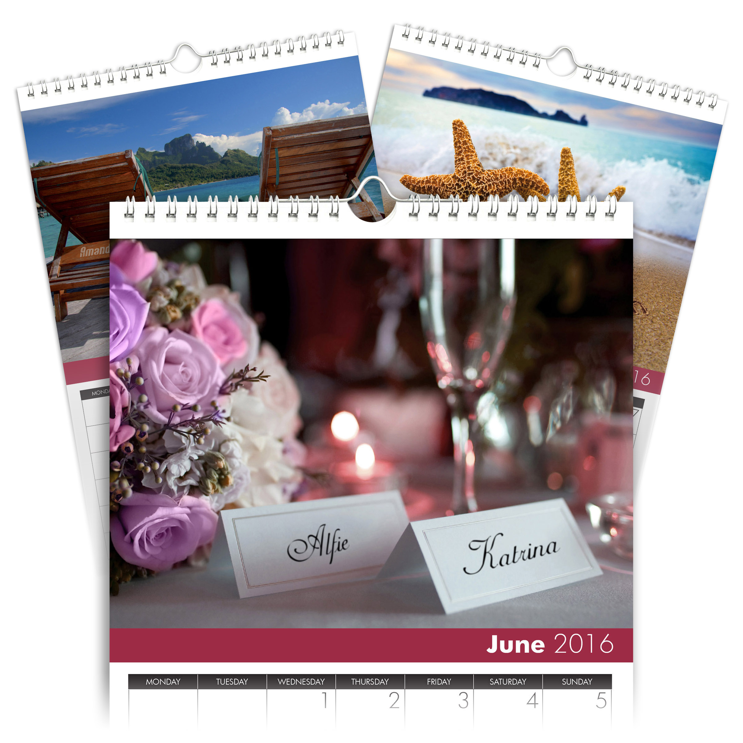 personalized love and romance calendar signature gifts