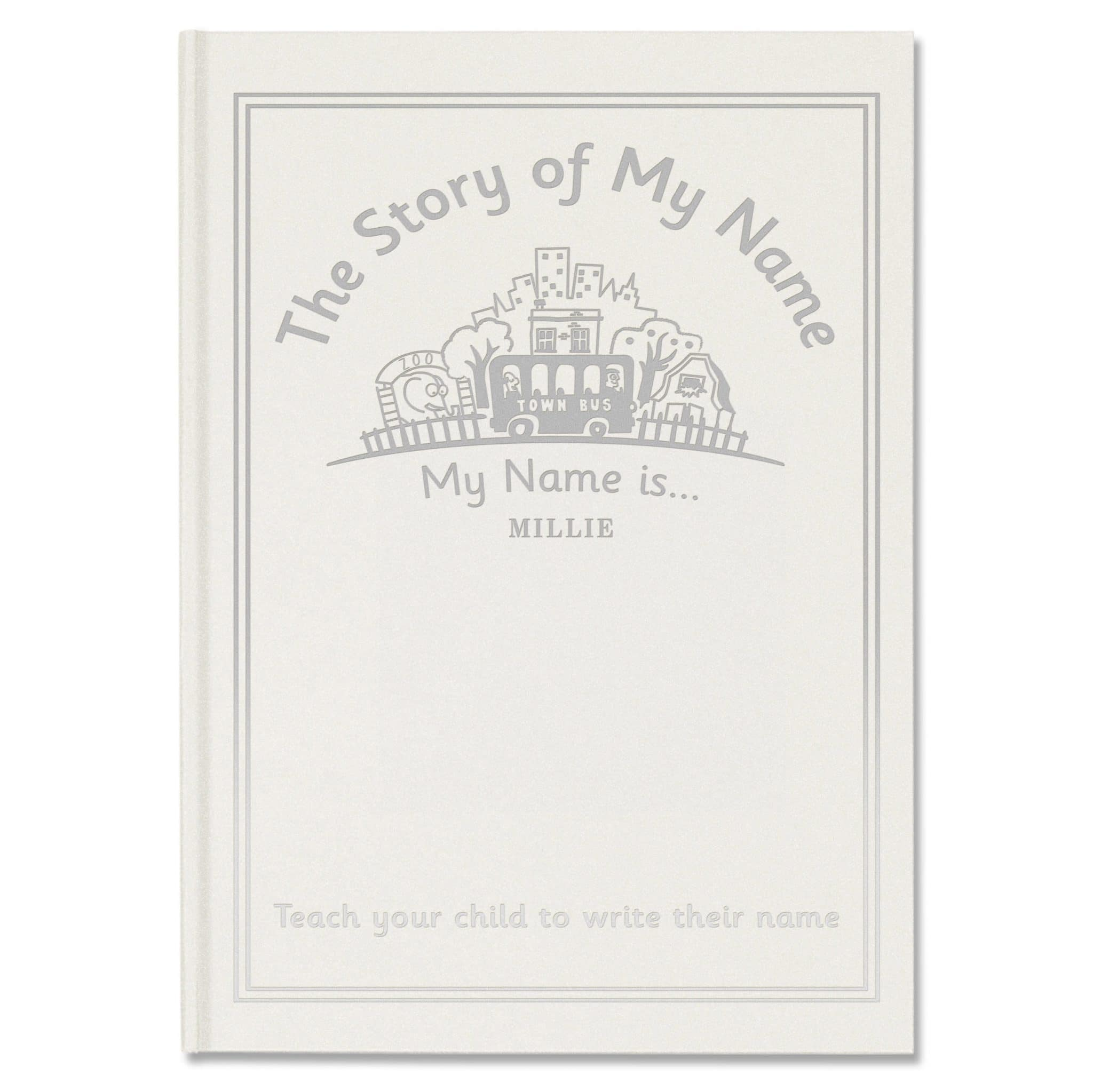 the story of my name Your name here this fun and interactive journal prompts kids to record their own life stories each illustrated spread focuses on different topics – from birth and the toddler years up to the present and dreams for the future.