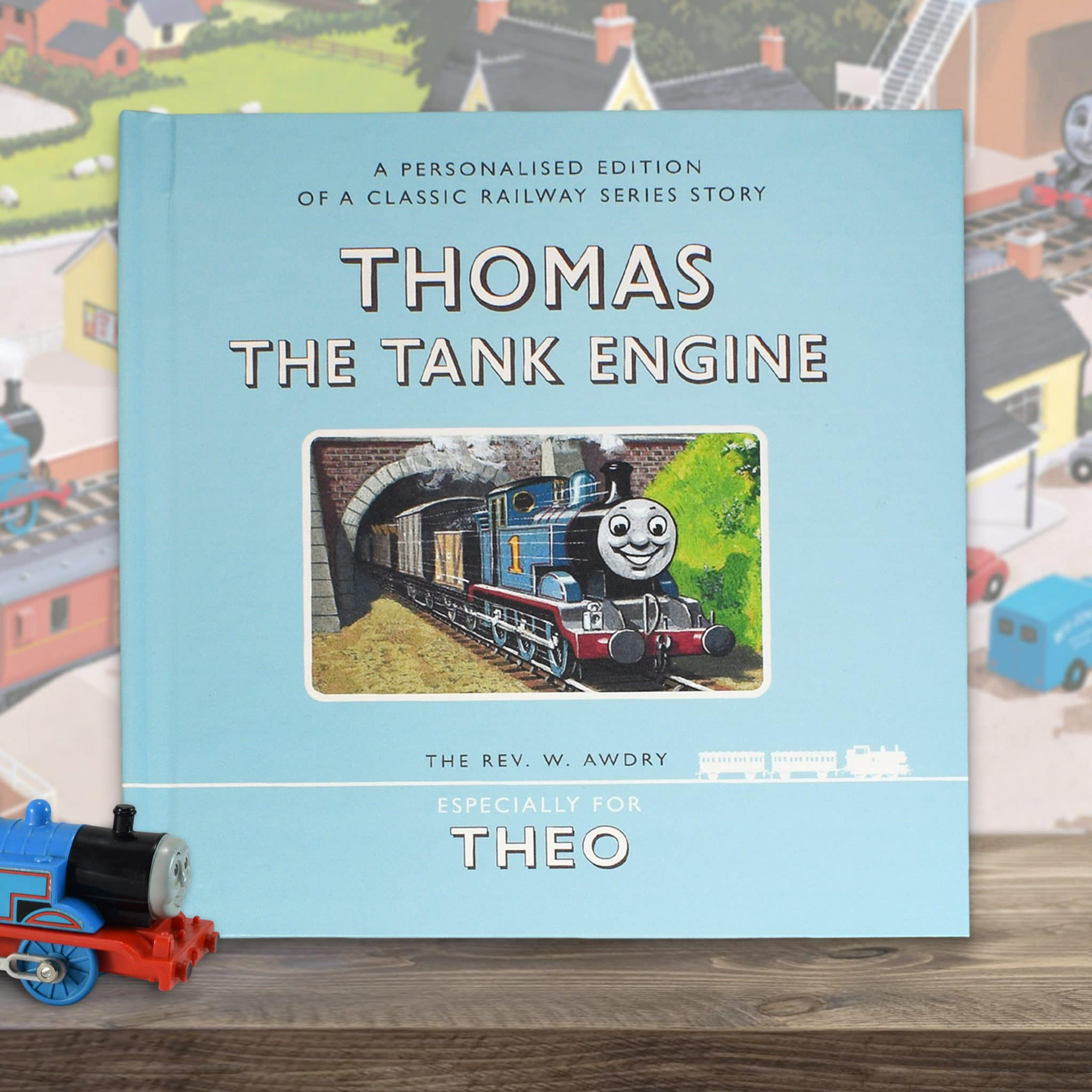 Personalized Thomas The Tank Engine First Edition Book Signature