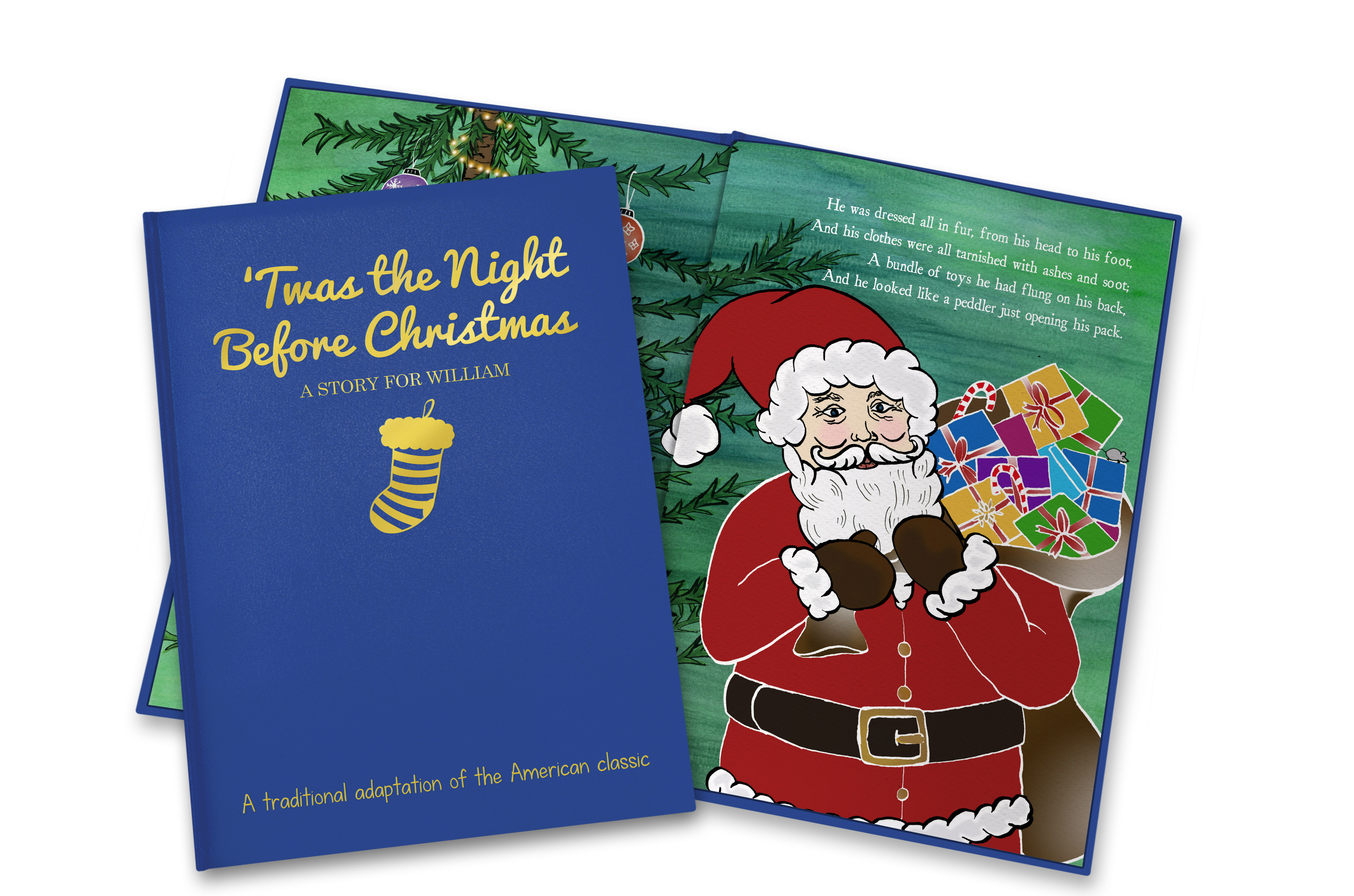 Twas the Night Before Christmas Personalized Book | Signature Gifts