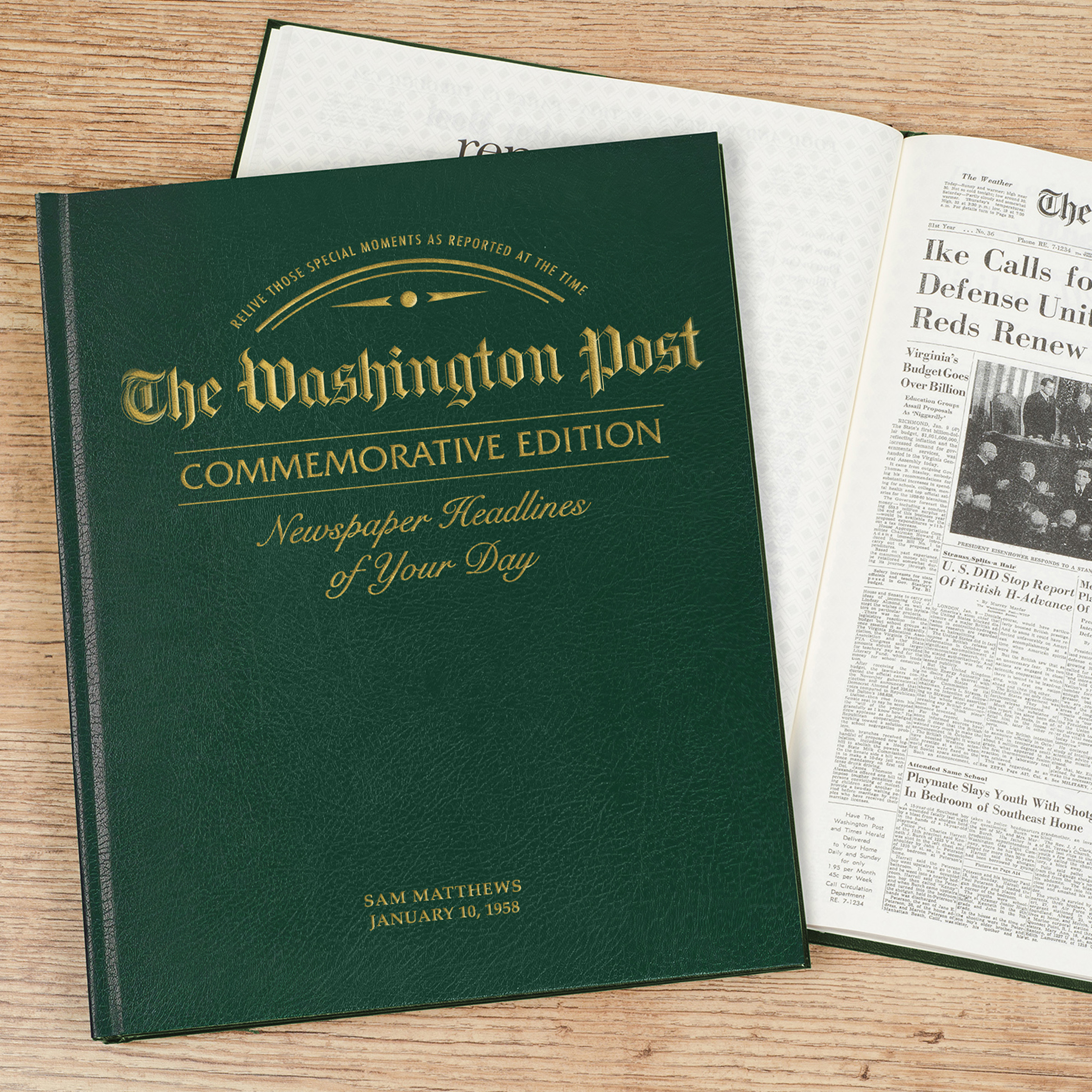 Washington post stock options