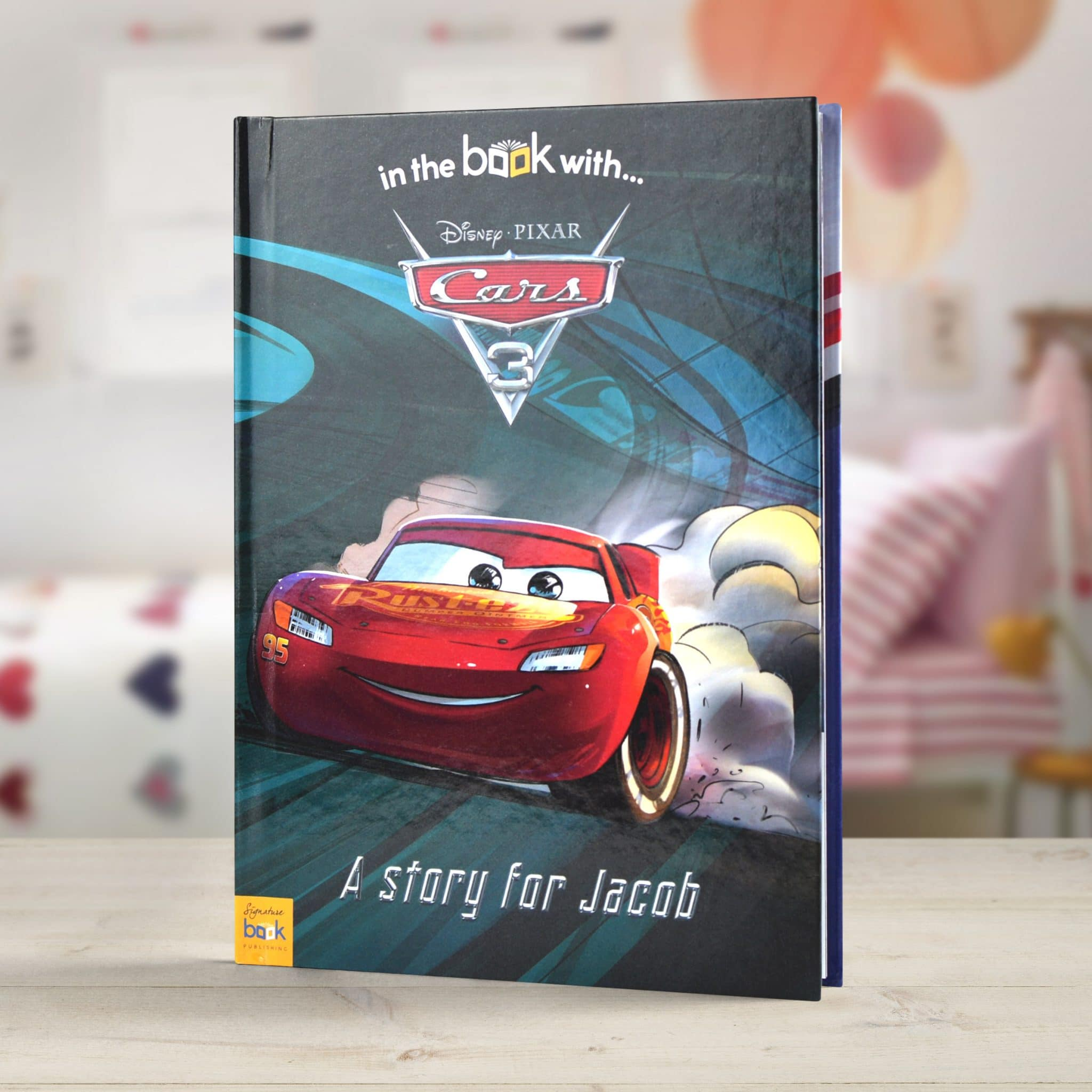 a880bdbf62d Personalized Disney Cars 3 Story Book | Signature Gifts