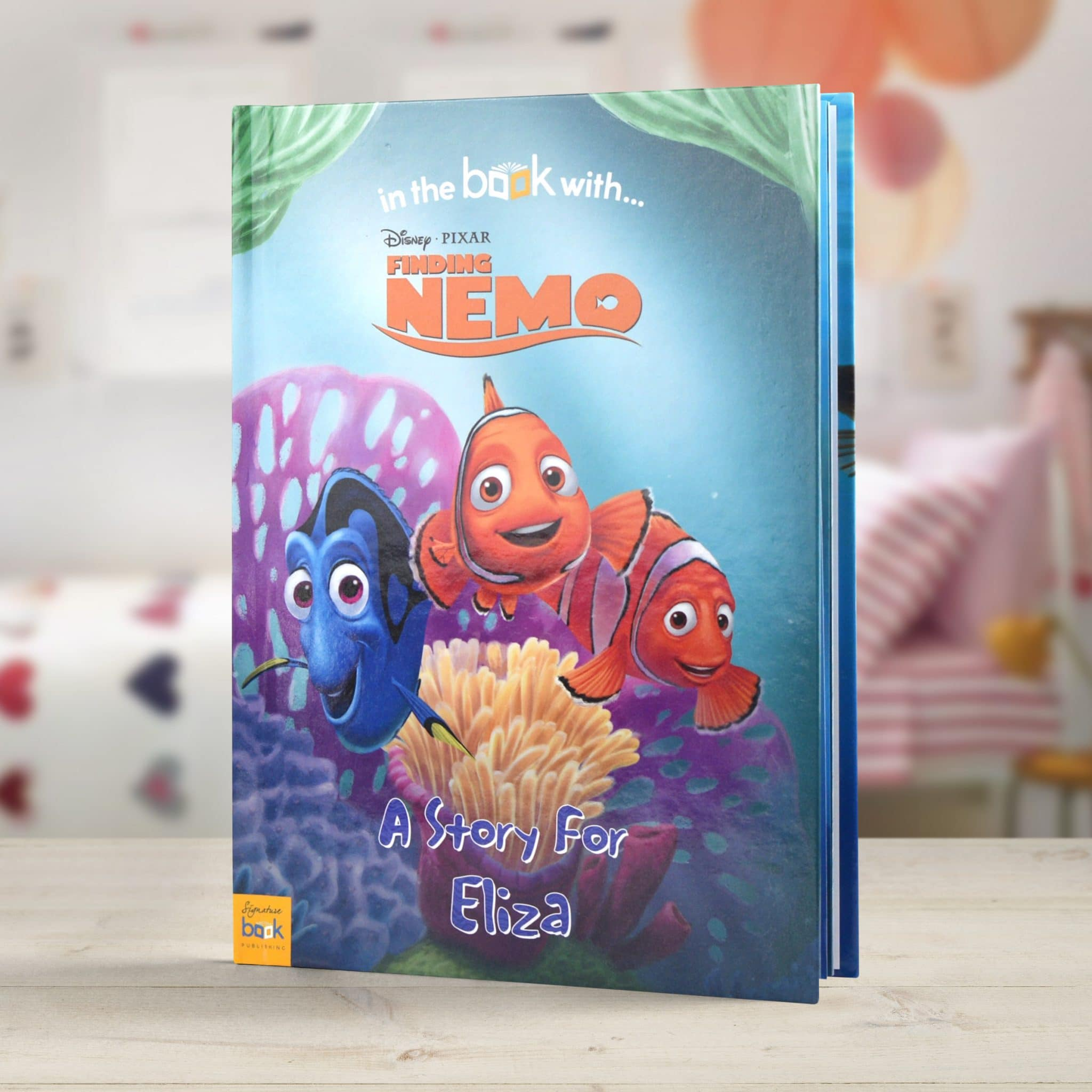 Personalized Disney Finding Nemo Story Book Signature Gifts