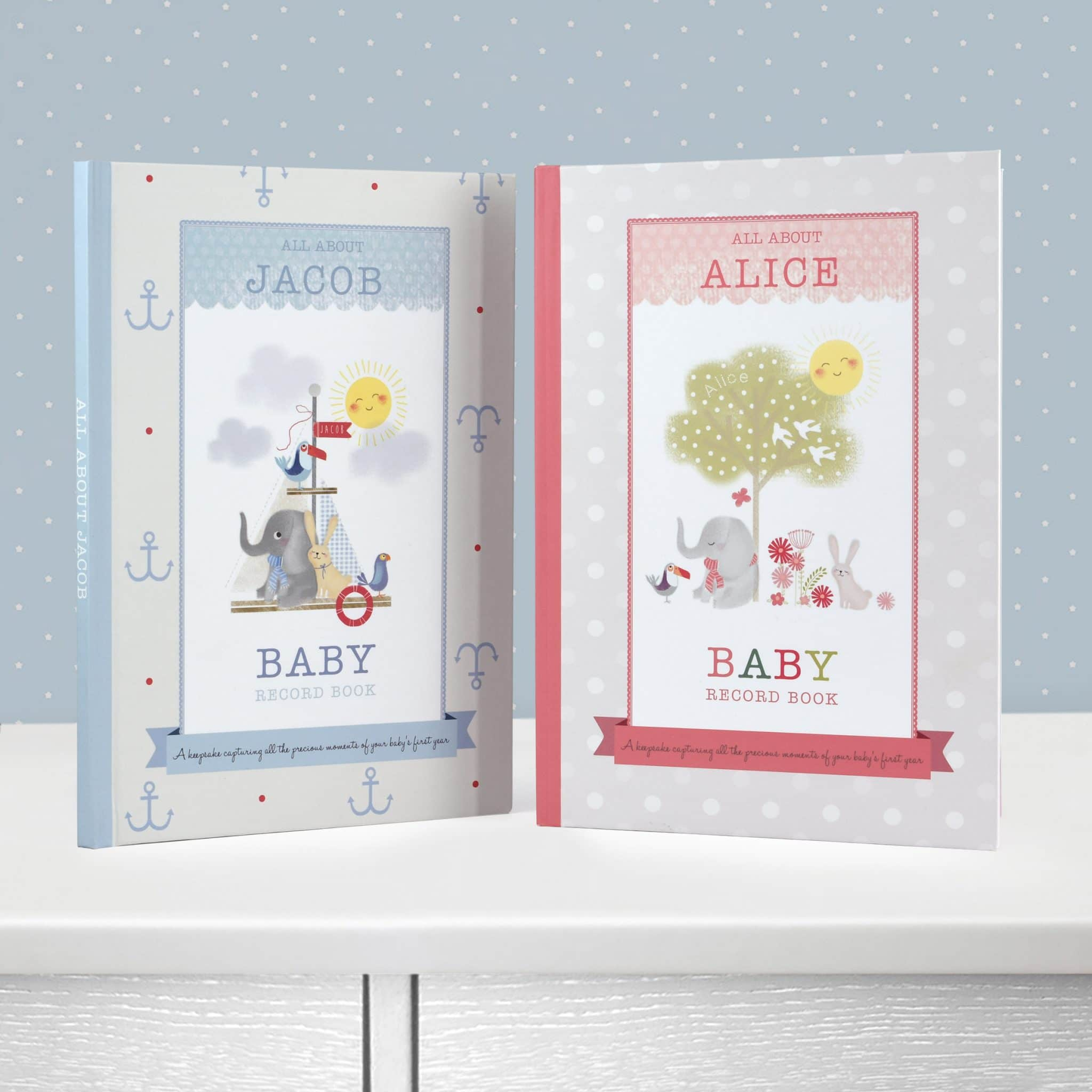 Personalized Baby Record Book   Signature Gifts