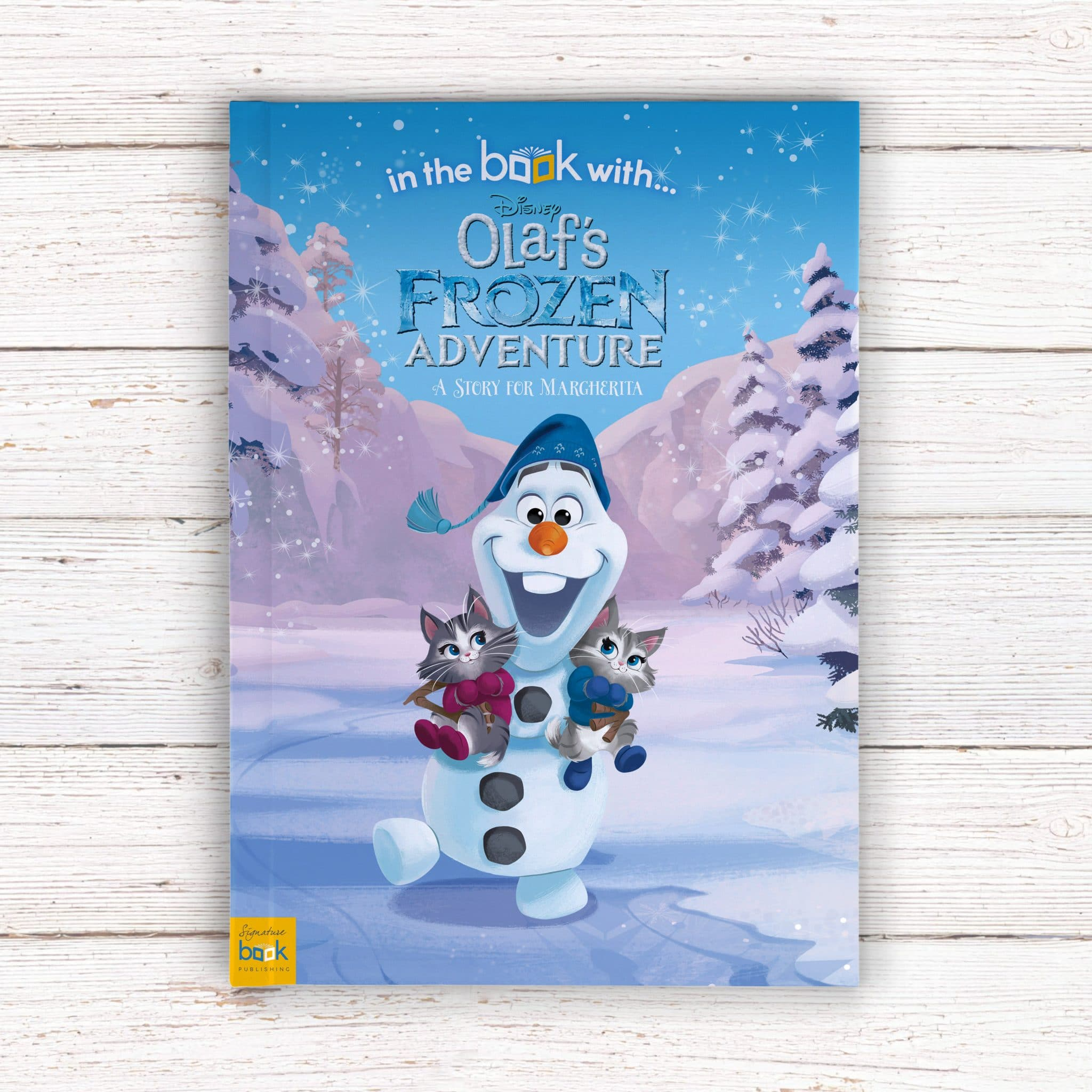 Personalized Disney Olaf\'s Frozen Adventure Story Book | Signature Gifts