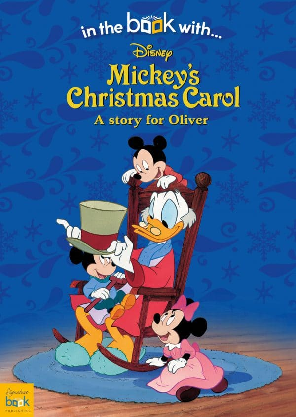 Personalized Disney Mickey's Christmas Carol Story Book | Signature Gifts