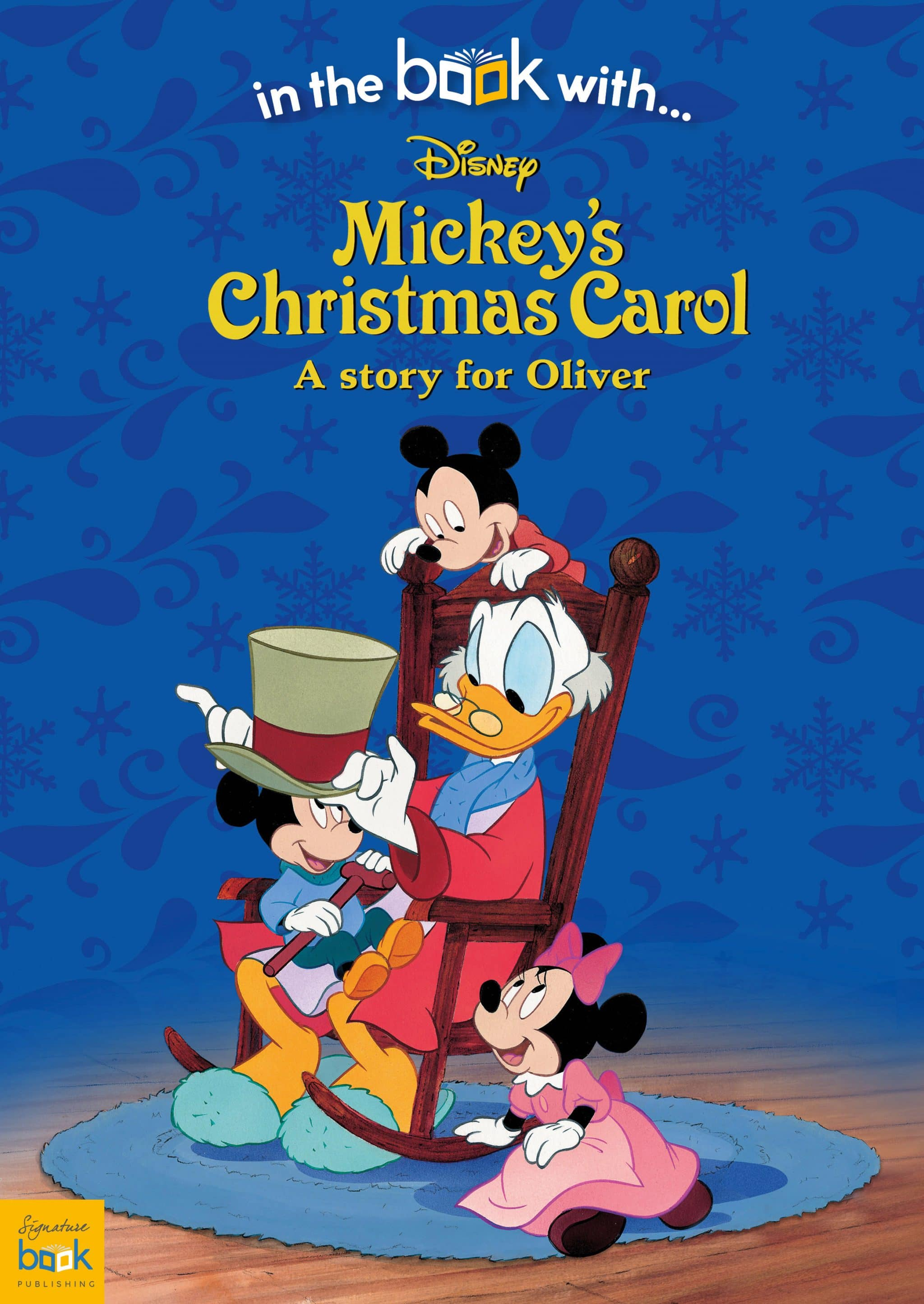 Christmas Carol.Personalized Disney Mickey S Christmas Carol Story Book