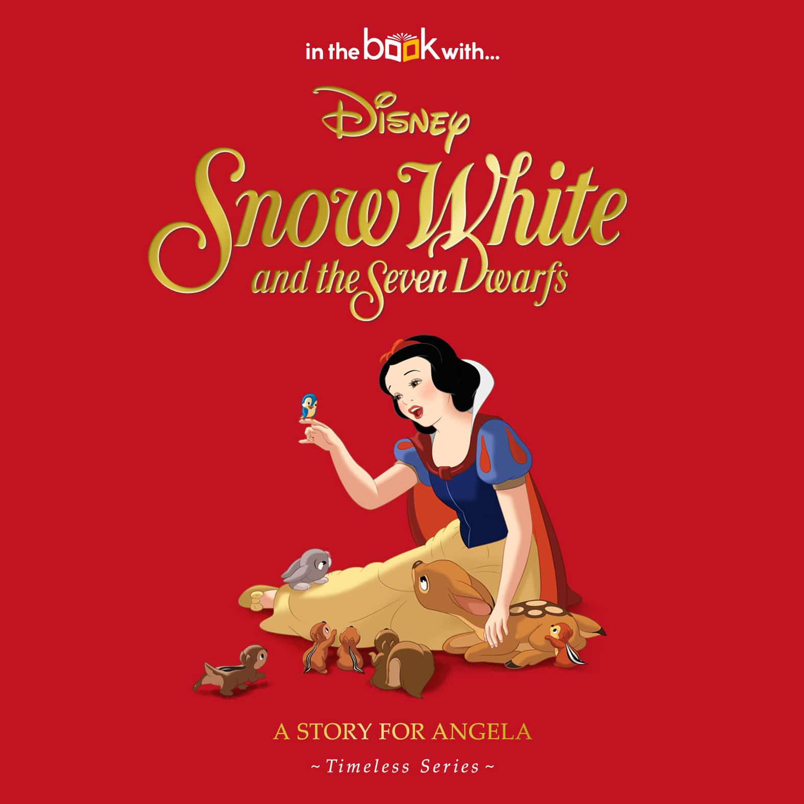 Book Cover Of Snow White : Personalized disney snow white story book signature gifts