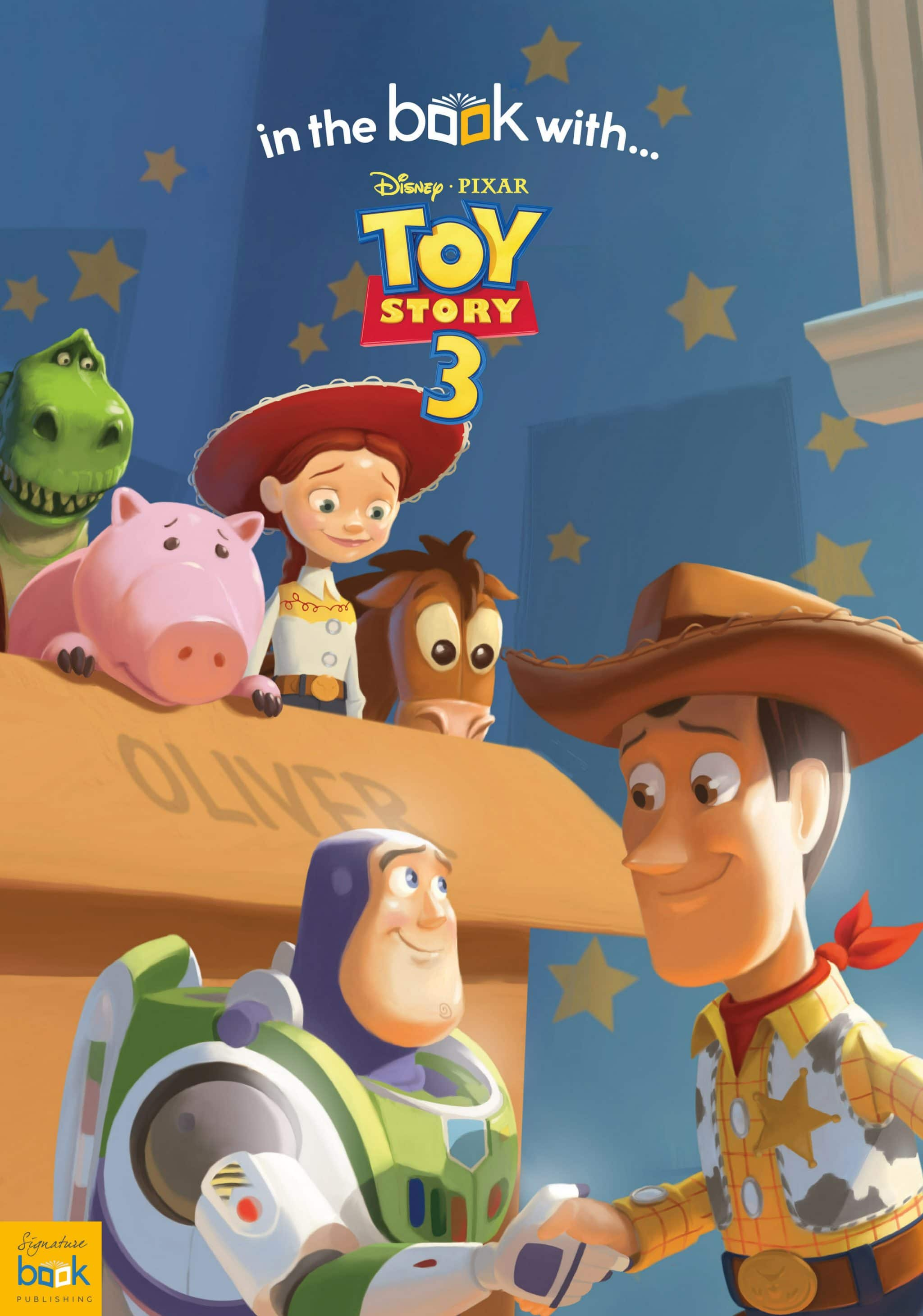 personalized disney toy story 3 story book signature gifts