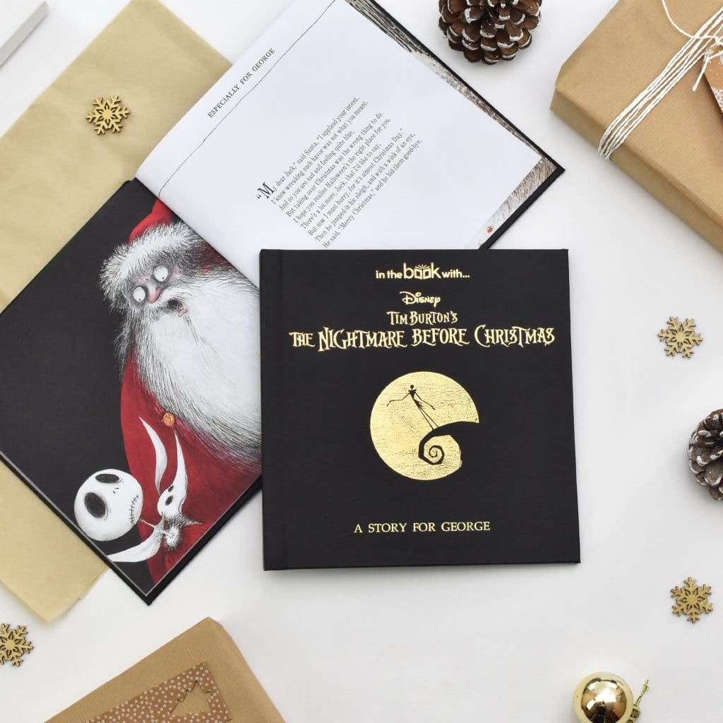 Personalized Nightmare Before Christmas Book