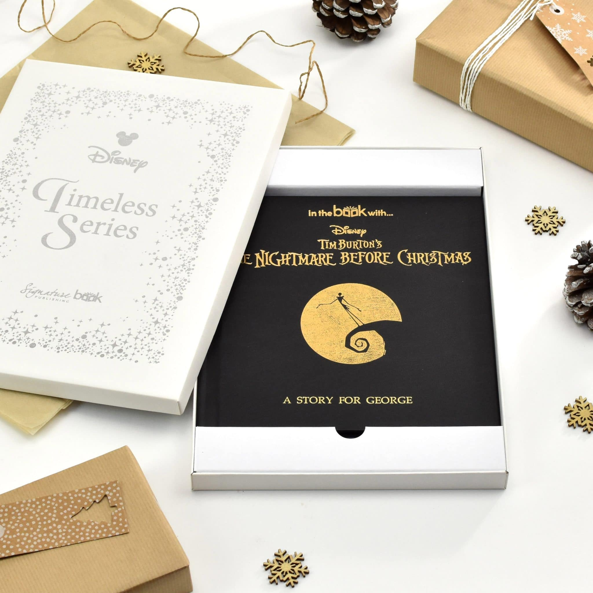 Personalized Nightmare Before Christmas Book | Signature Gifts